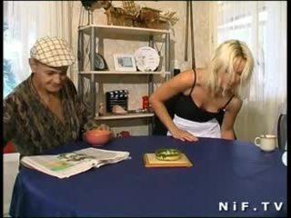 francouzština zábava, pěkný babes ideální, old + young ideální