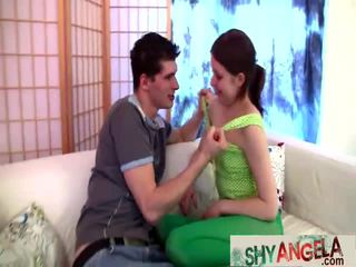 Angelas First Anal Lesson