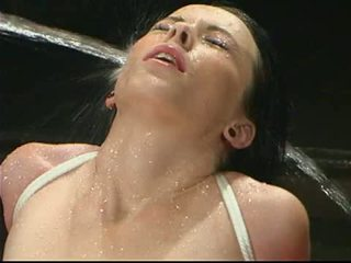 Water Pounds The Breasts Of Alexa Von Tess