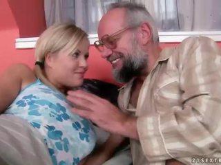 おじいちゃん と ティーン having 楽しい と ホット セックス