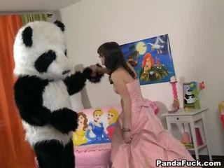 Teenaged Fairy Revived Toy Panda And Cocksuck