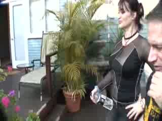behind the scenes of 3some porn movie