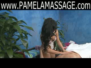 A good looking Oriental Massage