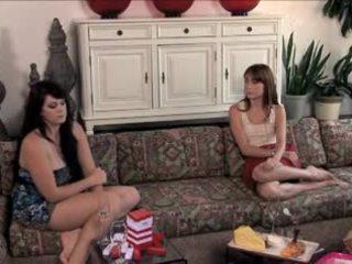 lesbians, watch brunettes real, babes