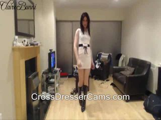 see brunette more, crossdresser hottest, solo hot
