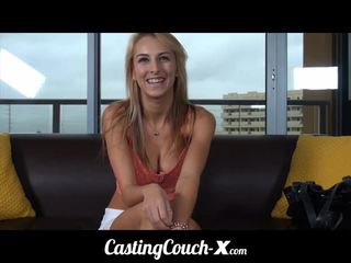Casting couch-x midwestern blonde likes projection de