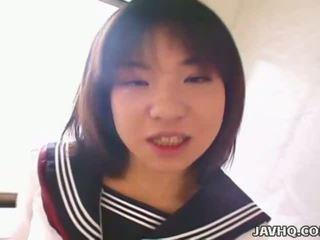 이상 일본의, 신선한 여학생, 무료 아시아의