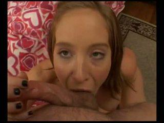 Naomi cruise hankering už dalis storas meat į shove į jos burna