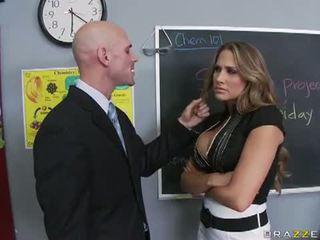 Brazzers Network: Mean teacher fuck her former student
