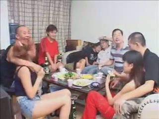 grupinis seksas, žmona, hardsextube, kinijos