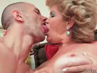 hottest suck, old, nice grandma all