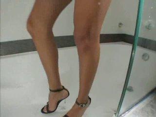 Bianca Freire Cock BathHot stimuLating ladyboy Trans
