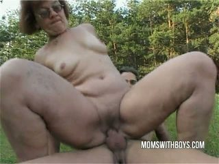 granny, mature, outdoor, amateur