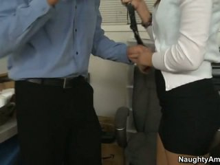 Holly convinces him by sucking his good cock