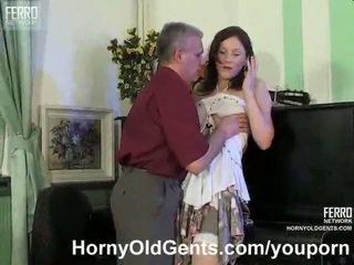 Mature music teacher fucks his student