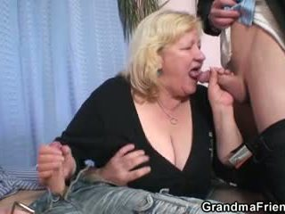 old, all 3some rated, new grandma hq