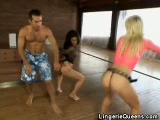 Aerobics et lingeries