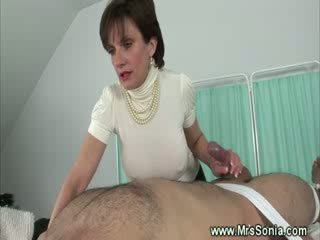 hottest cougar clip, jerking, all british clip