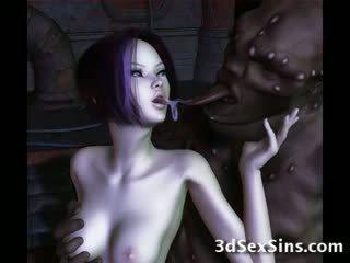 Ogres nailing 3d elf mädchen!