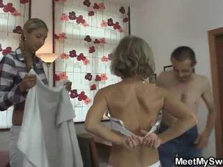 mlada, cuckold, slut, 3some