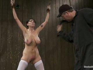 Alia janine 鞭 或 tickle