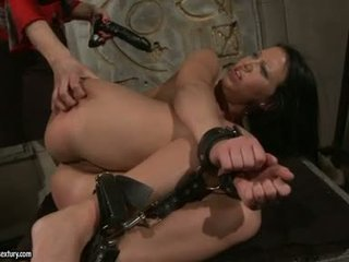 Katy Borman Drilling A Hot Babe's Ass With Dildo