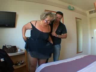 Carole French mature anal fucked