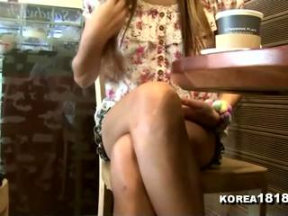 Korea1818.com - hooters coreana namorada filmed em data