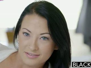 Blacked έφηβος/η beauty tries διαφυλετικό πρωκτικό σεξ