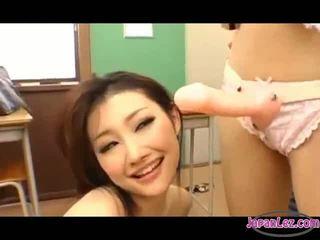 japonec sledovať, vidieť lesbička zadarmo, plný ázijský skutočný