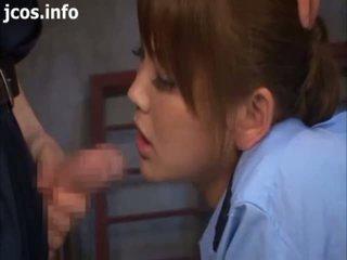 Asian Policewoman Play - Japanese