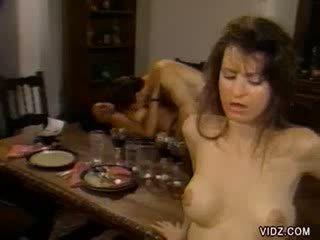 Housemaid experienced boss' raging shaft