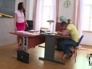 Hot latina samia duarte's kusut study session in foot jobs