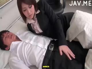 brünett, jaapani, cumshot