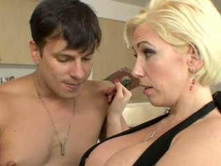 Kasey Grant has a hunger for hard cock