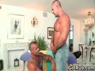 لطيف bro getting aroused homo rubbing