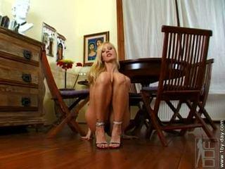 Tittilating Vega Vixen Fondling Her Boobies And Getts Naughty Oon Booth Of 'em