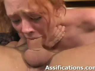 deepthroat, double penetration, gaping