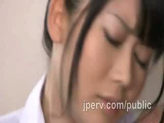 Asian studs go too horny whit this beautiful Japanese Schoolgirl