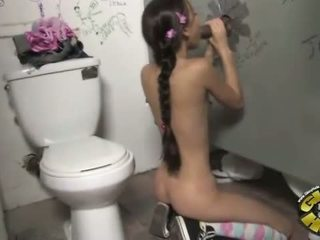 Amai Liu at a Gloryhole