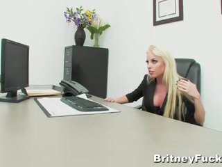 Britney amber's hot office sex