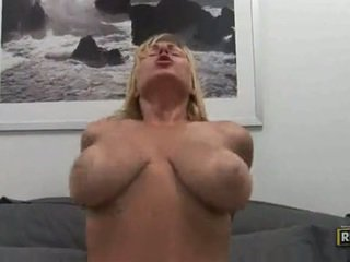 Velicity Von Giant Meatballs Shake As That Babe Bounces Hot Cum Hole On Still Prick