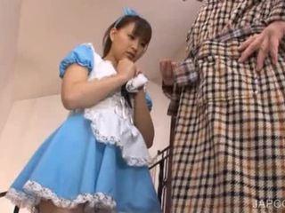 Japanese sweety shows undies upskirt