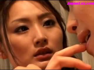 bonitinho, japonês, lésbicas, exótico