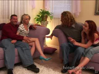Swinger wives Spermmed on