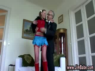 Red Panty Hose chick girl