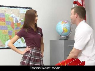 Presley dawson gets fucked in the classroom