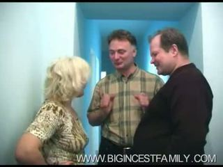 Russian Big Family Family Orgy