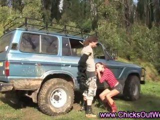 Amateur girlfriend oral blowjob