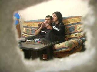 Amateur turque femme avec russe homme tandis que hubby was loin